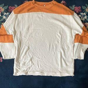 Free People Oversized Sweatshirt